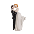 True Romance Bride and Groom Figurine ceramic wedding cake toppers