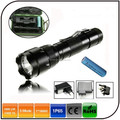 Waterproof Ultrafire 502b Cree xm-l t6 Led Torch Light High Power Police Flash Light