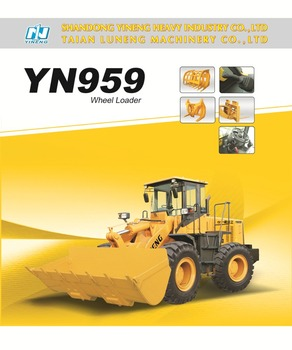 Yineng Construction Equipment 5 tons wheel Loader for sale