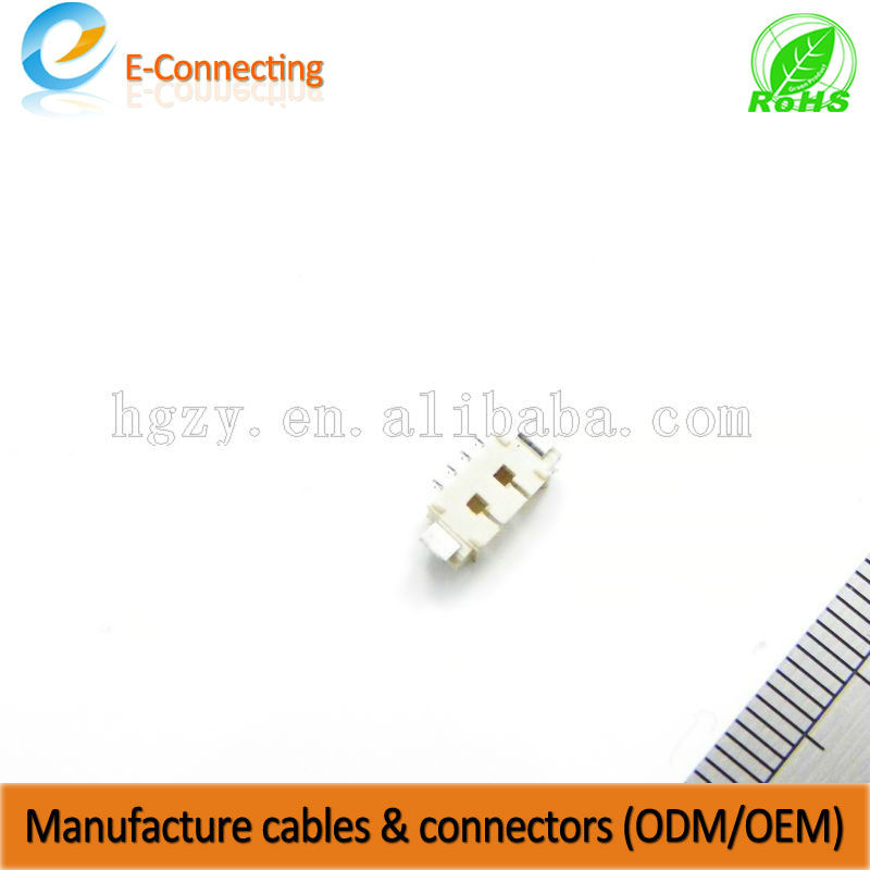 pogo pin connector 1mm pitch molex connector 2 pin 9 pin automotive connector