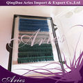 baby soft 12 rows multi colored individual eyelash extension
