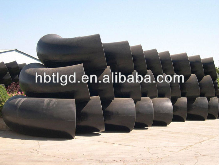 A234 WPB high pressure thin thickness wall carbon steel elbow