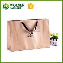 2016 packing bag top 1 supplier direct sell washable kraft paper storage bag