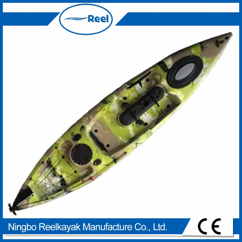 fishing plastic kayak for two person
