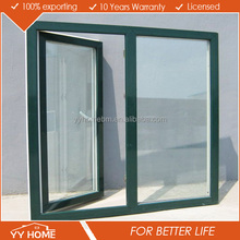 European Standard Double Stained Glass garden windows energy efficient windows double glazed aluminium casement window