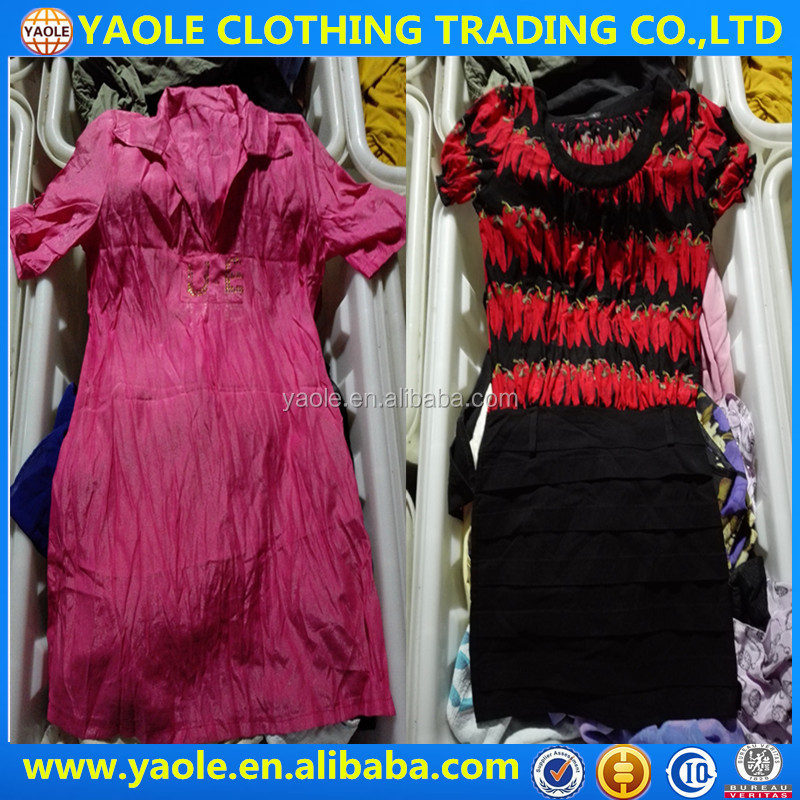 lady cotton dress used clothes in bales uk used clothing for sale