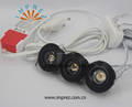 3*3w dimmable star light led reccessed downlight 220-240v black silver white housing color for choosing CE ROHS