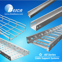 Cable tray and strut channel support(ISO9001 certified factory in China)