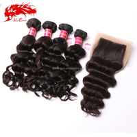 top grade 6a products best high quality weft brazilian virgin black star hair weave