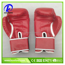 China Wholesale High Quality PU leather boxing gloves/Fighting Gloves