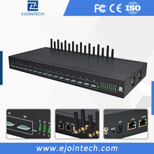 16 channel voip internet calls and receiving and group sending sip mobile voip recharge card modem 4g gateway