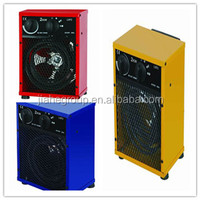 Square industrial electric fan heater