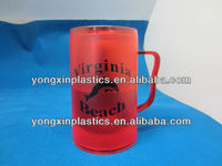 disposable custom plastic ice beer cup