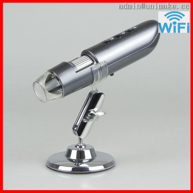 WIFI Digital Microscope Magnifying Lamp Illuminated Olympus Compound Light Magnifier