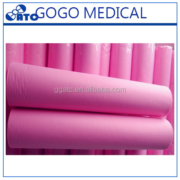 New disposable nonwoven bed sheet roll selling