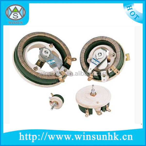 5W-500W Gold Aluminum Housed Wirewound Power Resistor