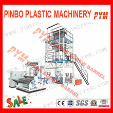 Two Layer Rotary Die Head LDPE Film Blowing Machine
