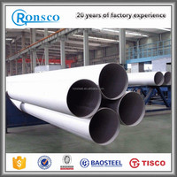High Quality Astm A312 Tp 316L Welded Pipe 100mm Diameter Stainless Steel Pipe for Sewage Water Project