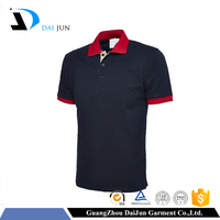 Daijun oem new design breathable low price fashion different kinds of unisex polo shirt