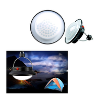 Portable Outdoor Camping Hiking Essential Rechargeable Camping LED Lantern Tent Umbrella Night Light Lamp Lantern