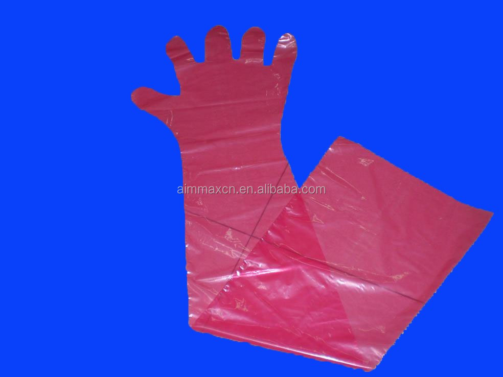 veterinary products long arm gloves plastic Health & Medical