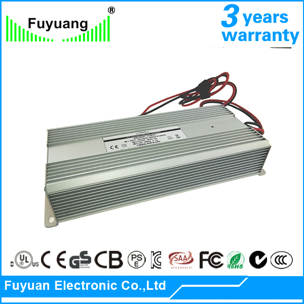 UL List 500w 24vdc Constant Voltage Waterproof Power Supply 24V 20.8A