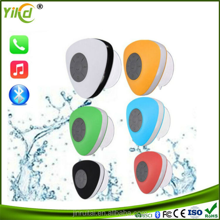 Factory Directly Wholesale Silicone waterproof Bluetooth Speaker , Car Bluetooth Speaker Subwoofer