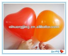 heart latex balloon