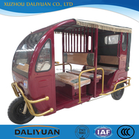 Daliyuan Bangladesh electric 6 seats battery tuk tuk three wheel passenger motorcycle