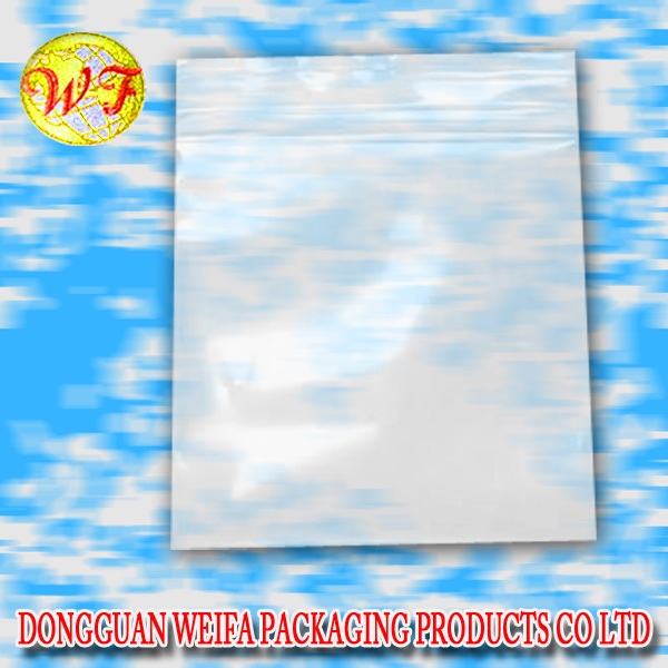 Easter goodies custom Transparent plastic zipper bags