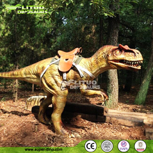 Children Playground Attractive Life Size Silicone Rubber Dinosaur For Kid