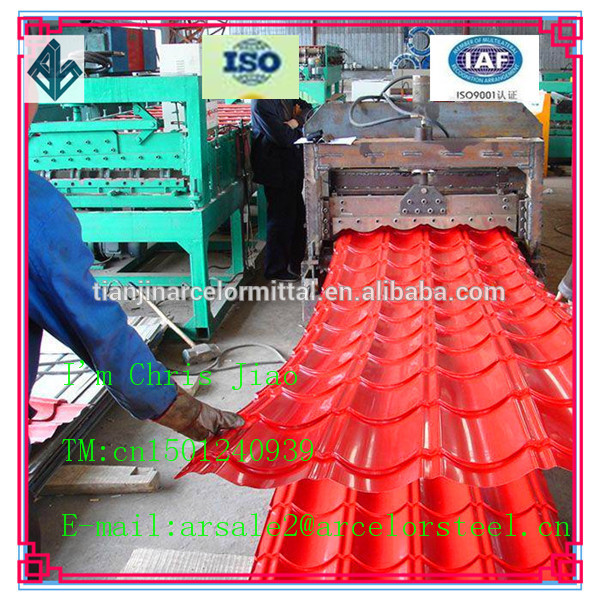 Building Material Supplier 0.7 mm Thick Aluminum Zinc Roofing Sheet