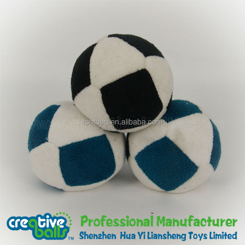 soccer kick ball/foot bag/hacky sack