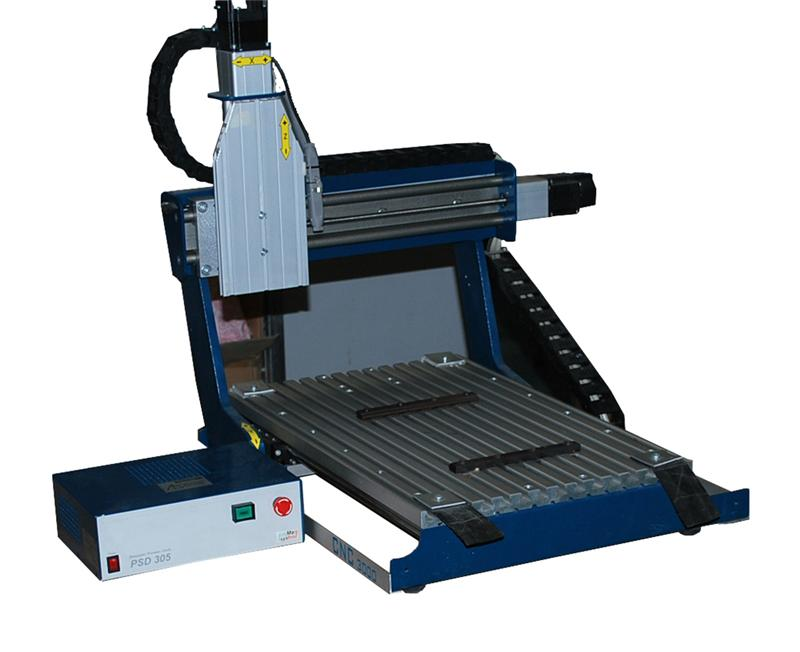Germany PROMA CNC3000 small pcb making machine Milling and Drilling machine for circuit board pcb