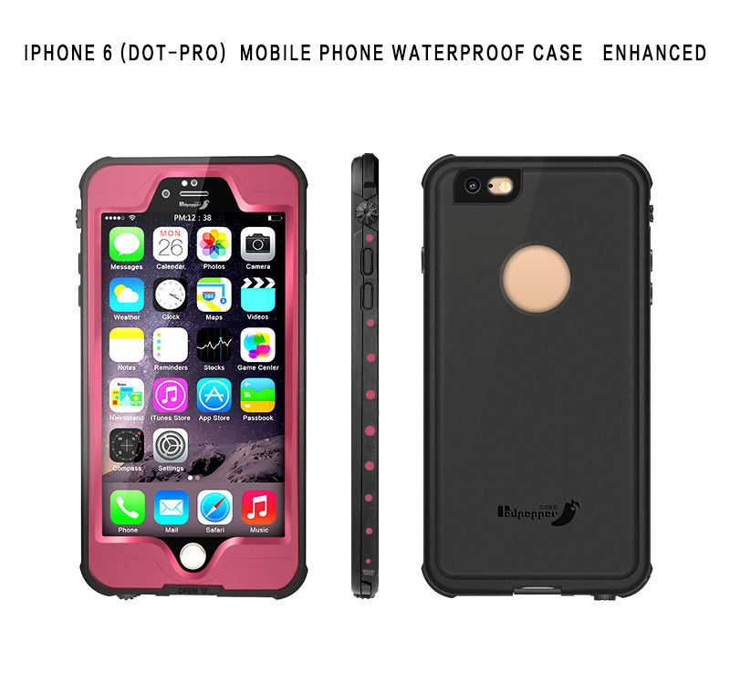 Classic Lightweight Waterproof Shockproof Dustproof Snowproof Case for iPhone 6 6S