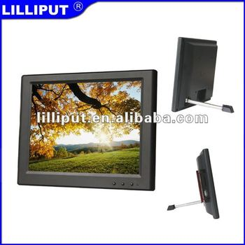 "Lilliput 8"" USB Monitor with 4-wire resistive touch screen. UM-80/C/T"