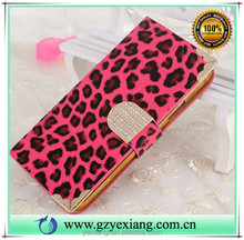 Cell phones smartphones accessories wallet leather cover case for iphone 5c pu leather flip back cover with card slot