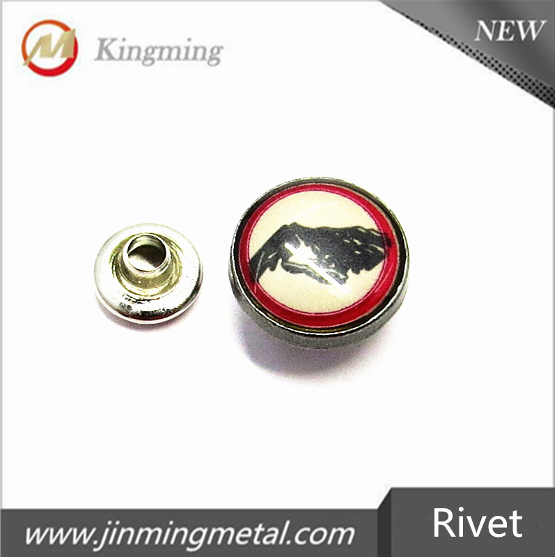 Glass And Metal Studs For Clothing