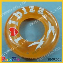 Promotional PVC inflatable swimming ring
