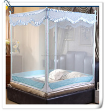 Permanet impregnated mosquito nets with types of designs