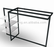 Metal/acrylic/glass display stand for cosmetic products