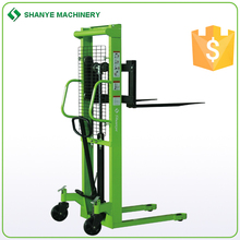Hydraulic pump hydraulic stacker credible quality garden tool wagon