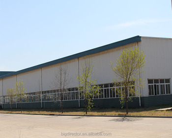 Galvanized Prefabricated Steel Structural Building For Warehouse Shed