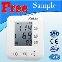 CE / ISO approved digital wrist watch blood pressure monitor