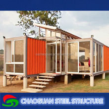 competitive price/beautiful assembled prefabricated container houses for sale