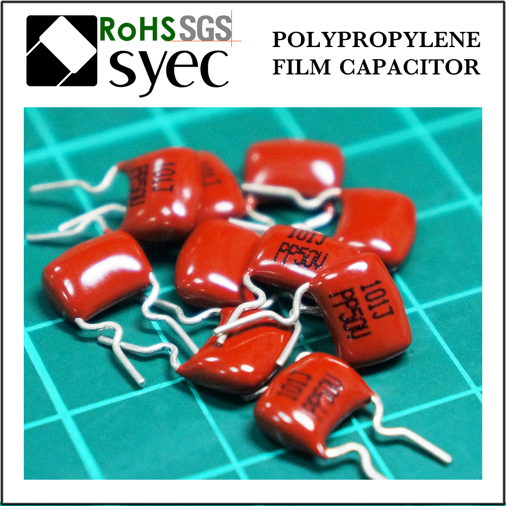 High Frequency Low DF 1200pF 400V Polypropylene Film Capacitor