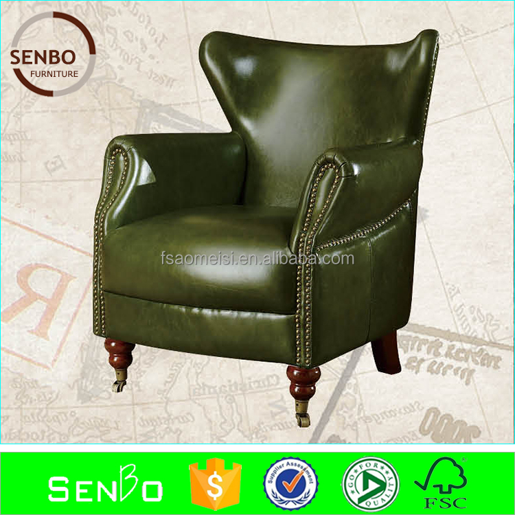 2015 latest circular furniture sofa / nova leather sofa chair / living room furniture purple sofa green leather chair