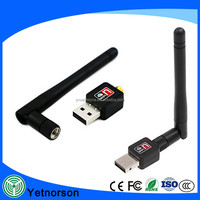 2.4G 150Mbps USB WiFi Adapter 802.11 b/g/n Wi-Fi Dongle computer PC Accessories Antenna LAN Network Card Signal Reciver