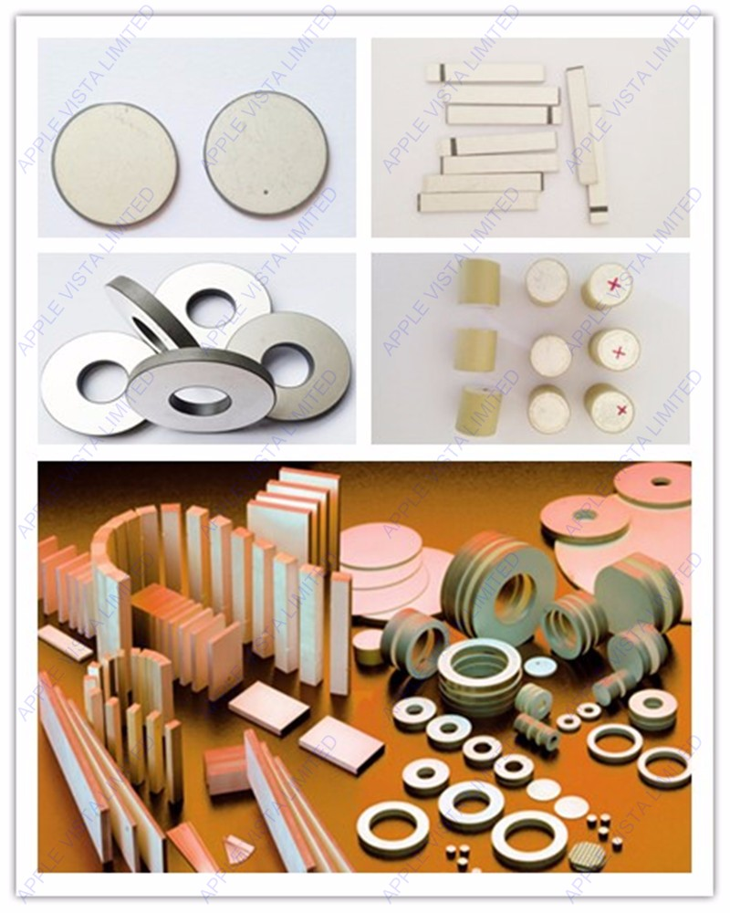 PZT Ceramic Manfacturer Supply Customized Piezoelectric Ceramic Elements