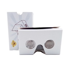 2017 latest fold easy assemble custom google cardboard 2.0 virtual reality vr glasses